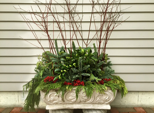 Classic Outdoor Holiday Container