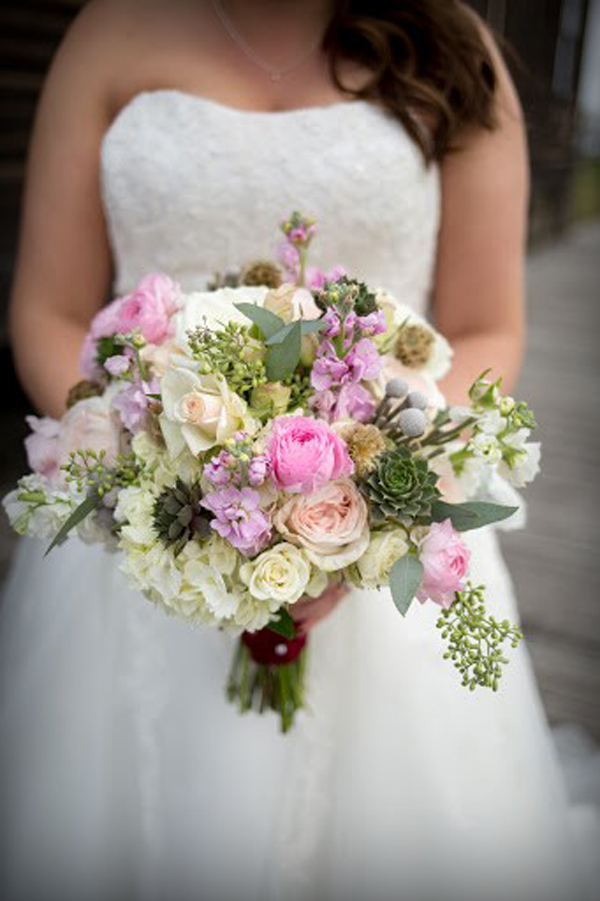 Blush & pink bouquet