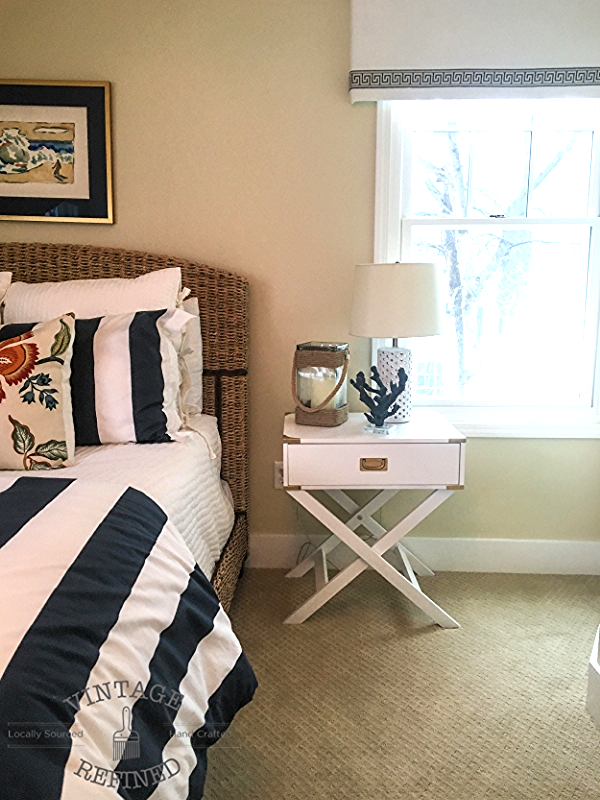 nautical bedroom. Let s just say this room wasn t always called the Nautical Bedroom  It was originally coined as Bambi Once you see Before pictures Vintage Refined Makeover Reveal
