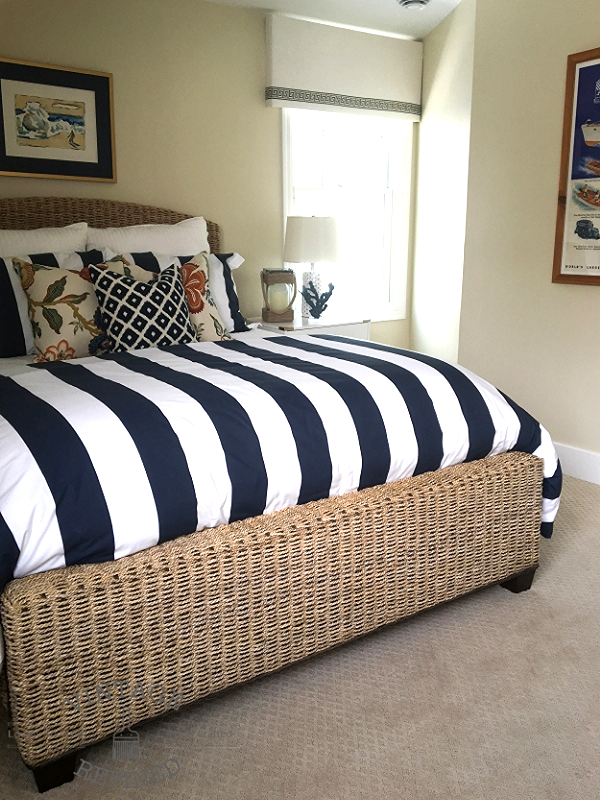 Nautical bedroom makeover