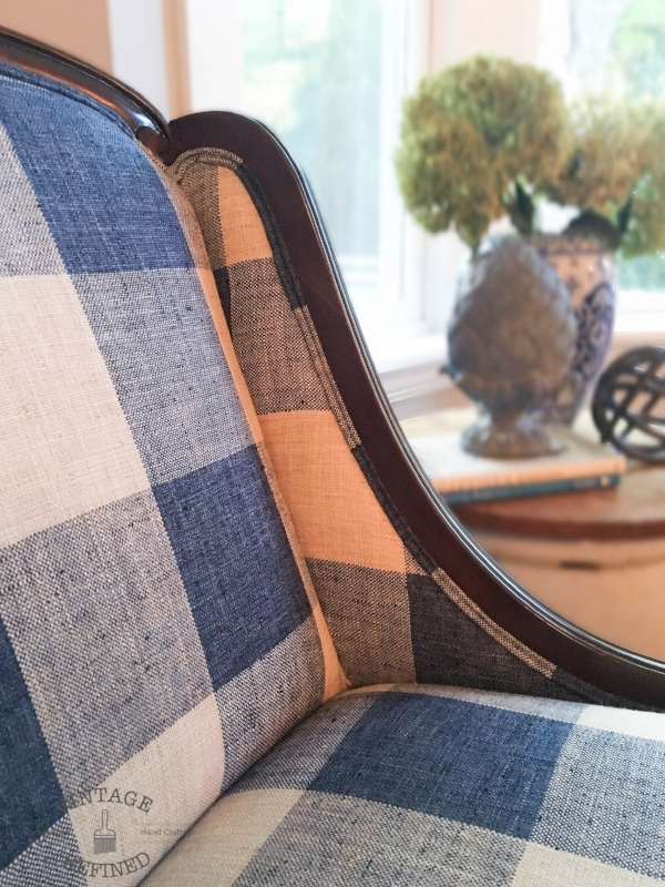 Buffalo Check Chair