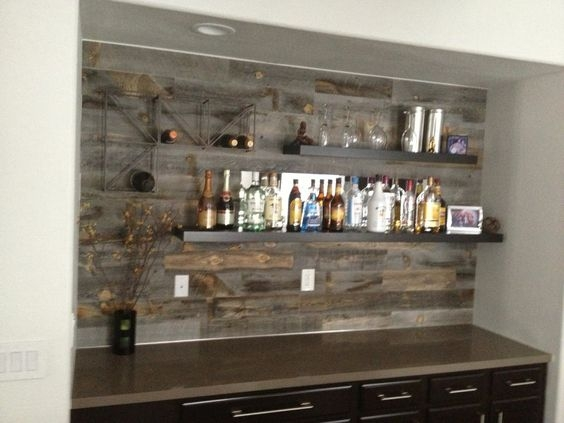 industrial wet bar