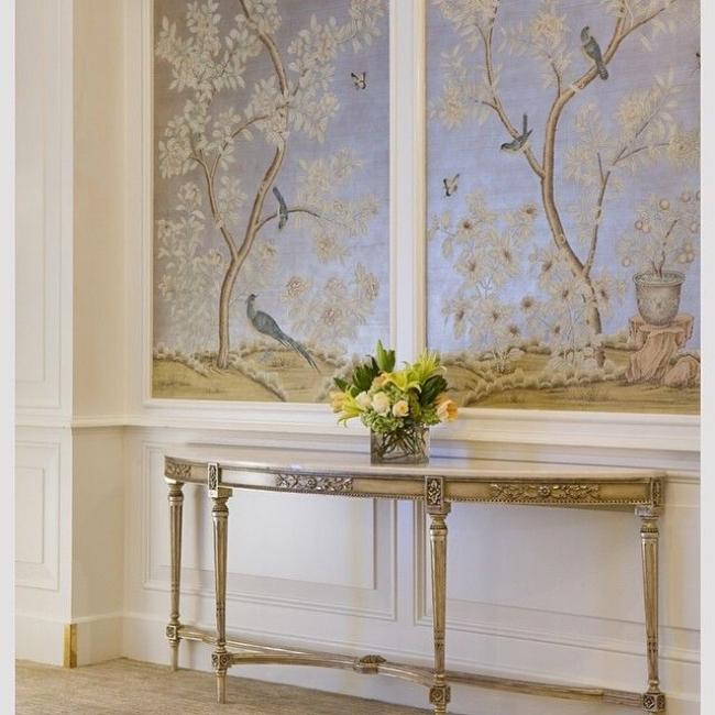 De Gournay wallpaper panels