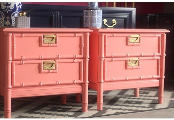 coral+nightstands