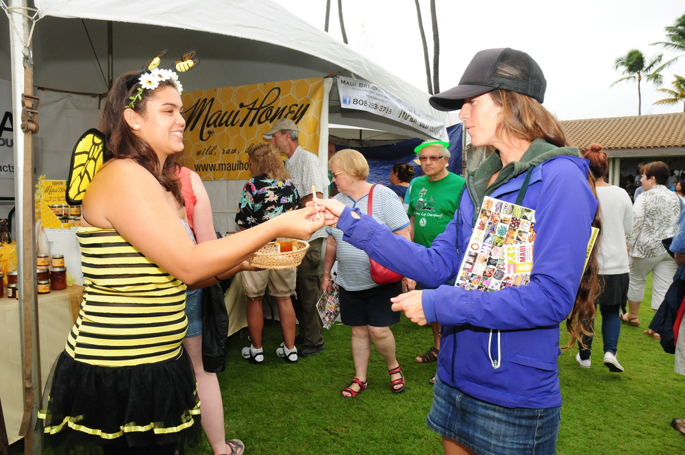 The inaugural Made In Maui County Festival attracted records crowds to the Maui Arts & Cultural Center.