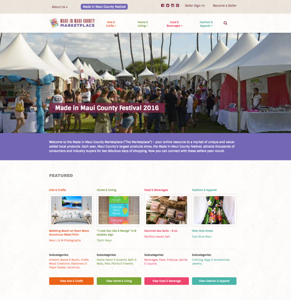 0cacb7d8e New Online Made In Maui County Marketplace promotes locally made products