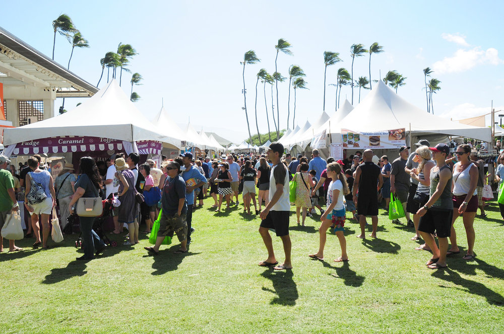 The Made in Maui County Festival drew over 11,000 of residents and visitors to the Maui Arts & Cultural Center on November 4 and 5.