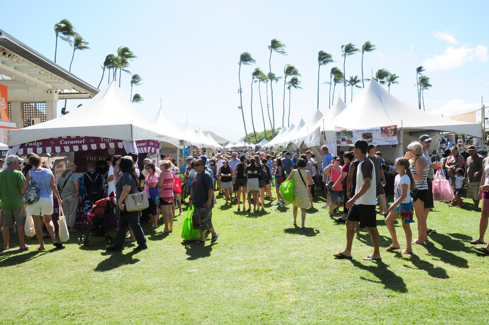 In 2016, the Made in Maui County Festival drew more than 11,000 residents and visitors to the Maui Arts & Cultural Center for two days of shopping.