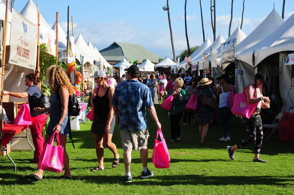 In 2017, the Made in Maui County Festival drew more than 10,000 residents and visitors to the Maui Arts & Cultural Center.