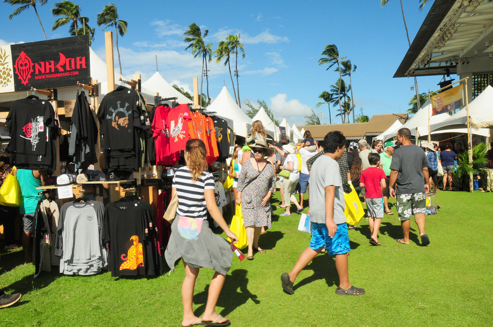 The 5th Annual Made in Maui County Festival attracted over 10,000 residents and visitors to the Maui Arts & Cultural Center on Nov. 2 & 3.