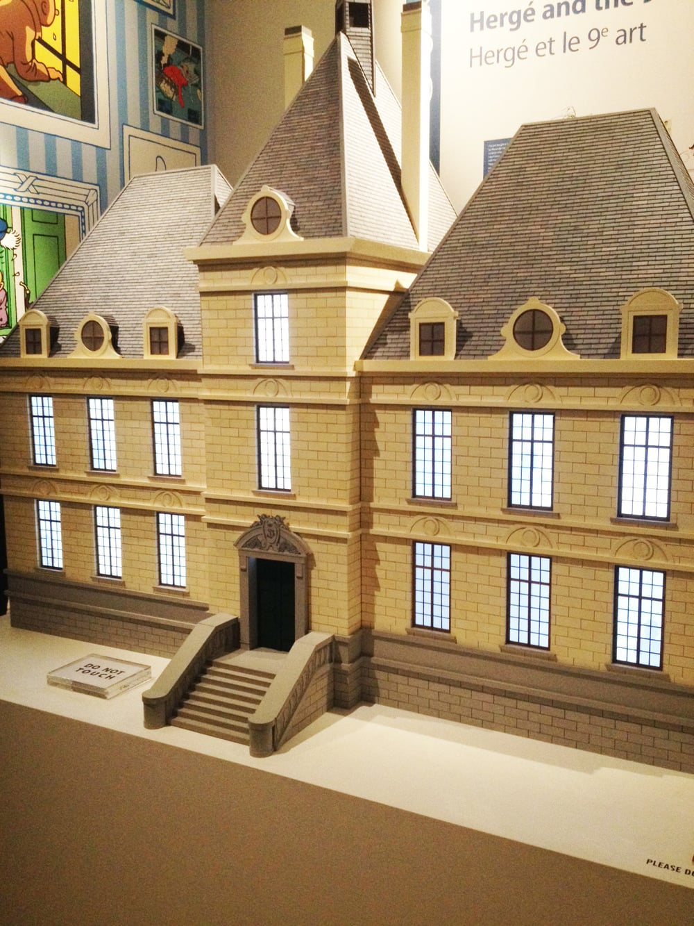 Tintin exhibition 2 Somerset house.jpeg
