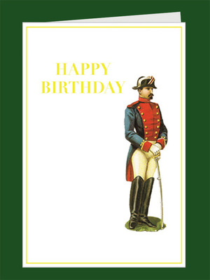 Birthday soldier greeting card tartan and zebra birthday soldier greeting card bookmarktalkfo Image collections