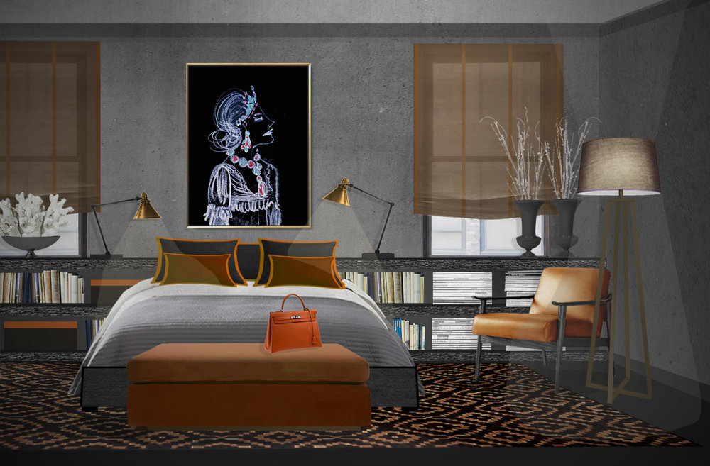 Classic art prints for contemporary interior design.jpg