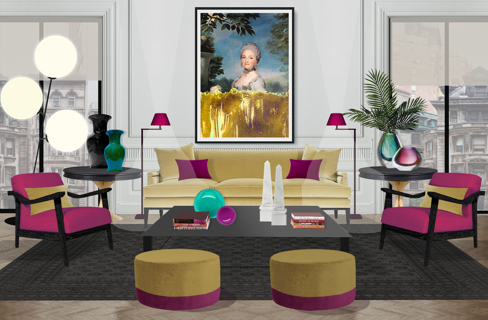 incredible interiors for unique original art pieces.jpg