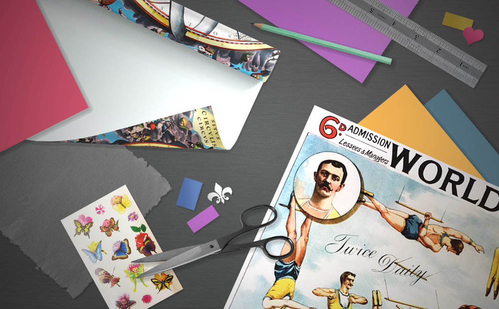 PRINTED PAPERS - and scrapbooking materials beautifully printed in different styles perfect for your design projects