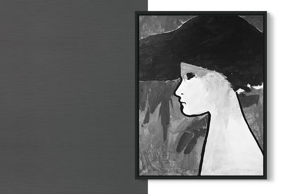 A LADY IN B&W - from €24