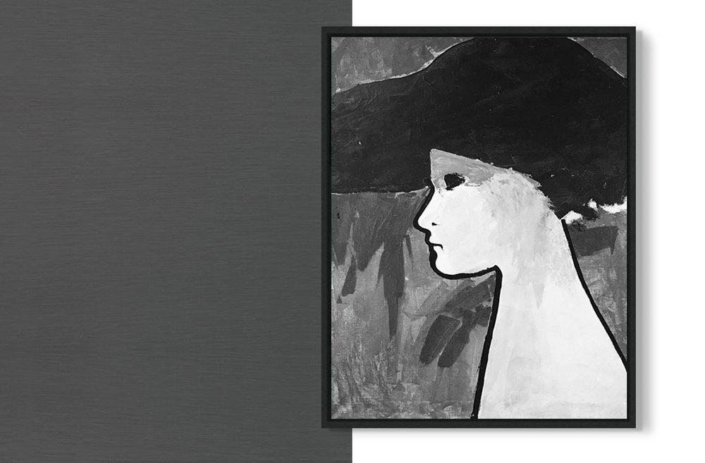 señora en blanco y negro - desde €24