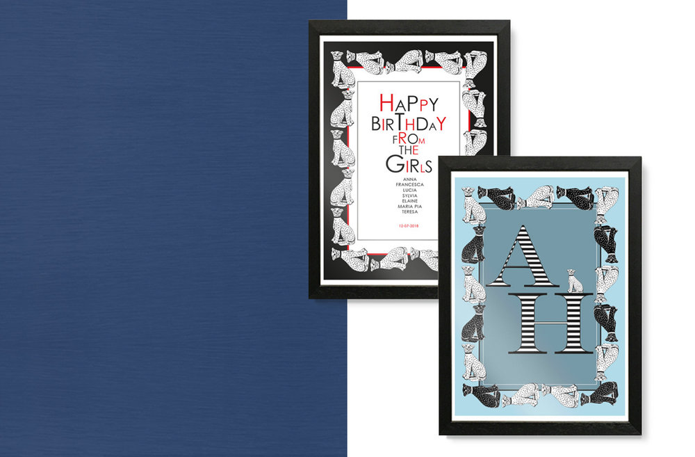 PERSONALISED ART PRINTS - from €19