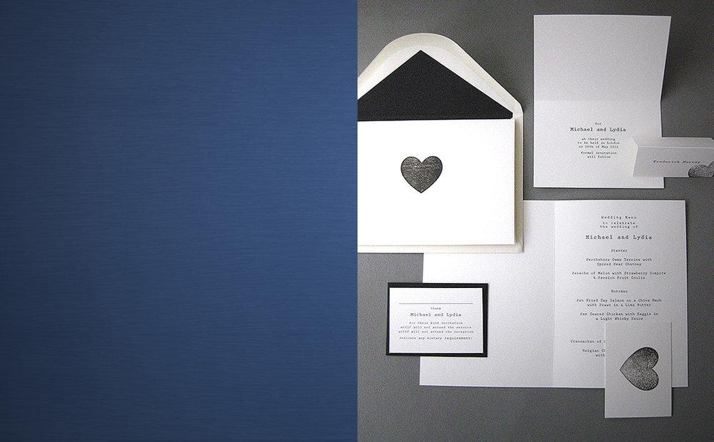 WEDDING - stationery in elegant and stylish designs, from classic invites to modern wedding stationery