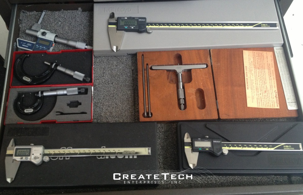 "Digital Calipers 0-12"" , Micrometers 0-2"", Depth Micrometer 0-3"""