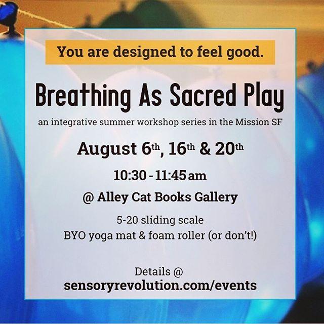 Sat AM #SF! Release the buildup, enliven you #senses & orient your #imagination for a #grounded & fantastic weekend 🙏💫✨💕 #meditate  #meditation #creativity #breathing #breathwork #sanfran #missiondistrict #sanfrancisco #bayarea #peace #loves #workshop #class #humanelywild