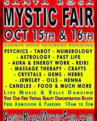 Santa Rosa Mystic Fair- FREE entry & parking!  North Bay peeps, lovers of the occult, natural care enthusiasts, ritual practitioners, handcrafted havers, mystical humans, and curious birds... Join Sensory Revolution, Mother Earth Arts & others next weekend 10/15-16 for the Santa Rosa Mystic Fair. It's our first time there but heard it's worth the trip! Get your gifting groove on a bit early or come for the self care and good vibes. #selfcare #naturallife #organic #aromatherapy #vegan #healthylifestyle #health #sculptures #motherearth #upcycle #woodgrain #woodworking #naturalliving #handcrafted #dosomethingdifferent  #bayarea #santarosa #shopsmall #shoplocal #Peace