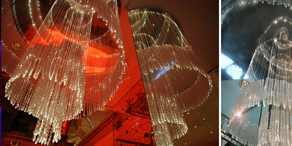 bobadilla clud_bespoke chandelier, design francesca signori