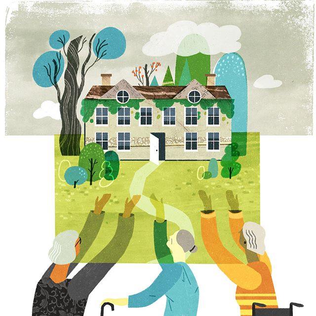 Spot illustration for portfolio magazine I did a while ago is now published in print. Thanks AD Emmanuelle Peri.