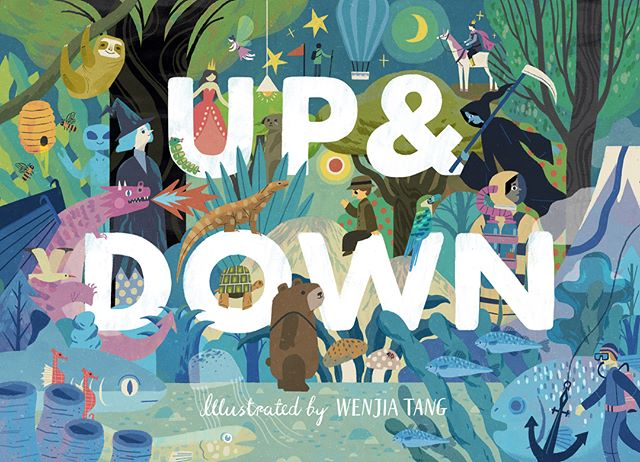 Some preview of my upcoming book 'Up & Down' (will be published really soon, you can now find the page on Amazon!) published by @victionworkshop @victionviction #childrensbooks #childrensbookillustration #picturebooks #illustration