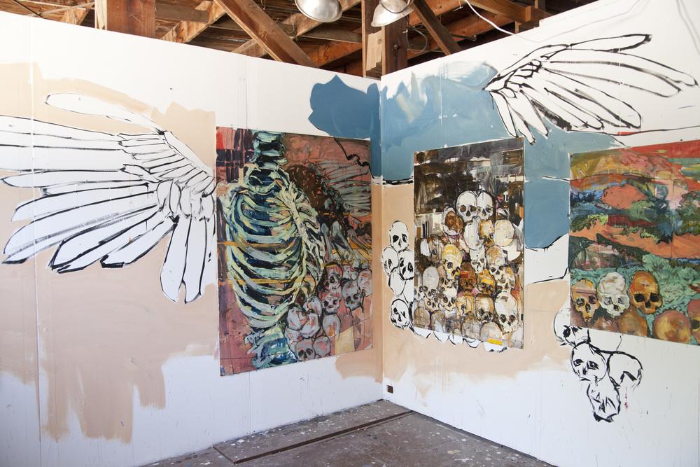 Pump Project studio. 2015