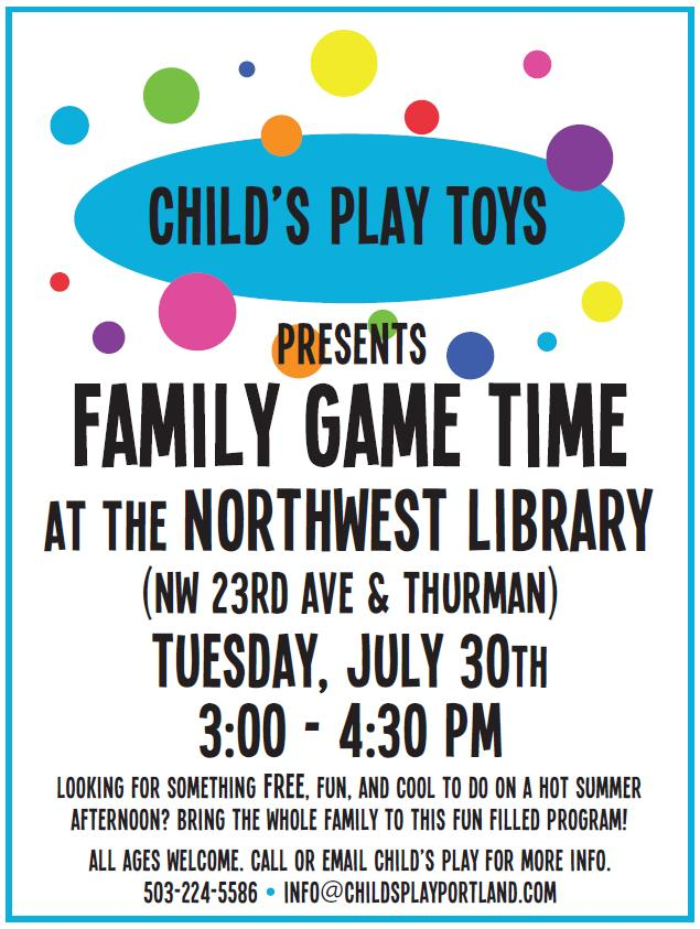 Portland_Family_Game_Time_NW_Library