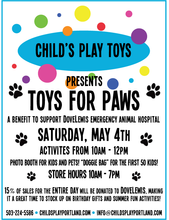 Portland_Family_Events_toys_for_paws