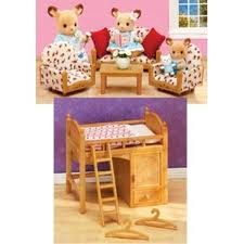 Portland_Toys_Calico_Critter_Loft_Bed_Living_Room_Suite