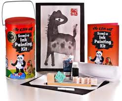 Toys_in_Portland_Sumi-E_Ink_Painting_Kit