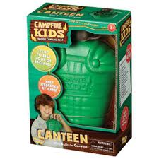 Canteen with Built-in Compass, Ages 3+  $7.99