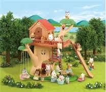 Toys_in_Portland_calico_critters_adventure_treehouse