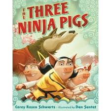 Educational_Toys_in_Portland_Books_the_three_ninja_pigs