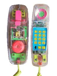 Early 90s Clear Telephone!