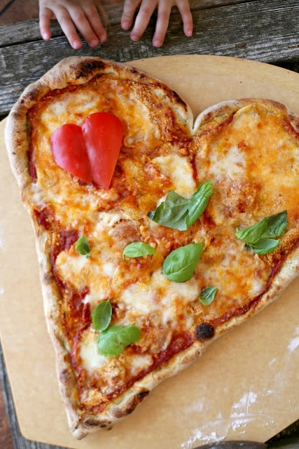 Portland_kids_heart_shaped_pizza