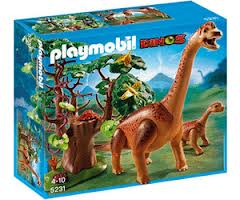 Toys_in_Portland_playmobil_brachiosaurus_with_baby