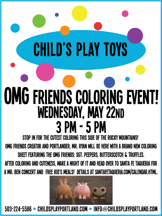 Portland_kids_coloring_Event_OMG_Friends