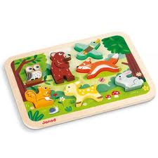 Portland_toys_janod_forest_chunky_puzzle