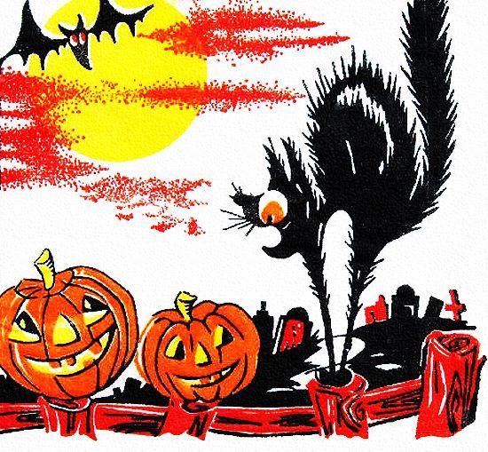 vintage halloween image