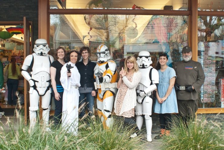 star wars and staff