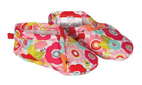 Kimono Booties, sized for newborns, $12.99 Matching Quick Change Pad $22.99