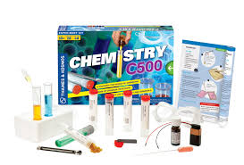 C500 Chemistry Kit by Thames & Kosmos, Ages 10+ $34.99
