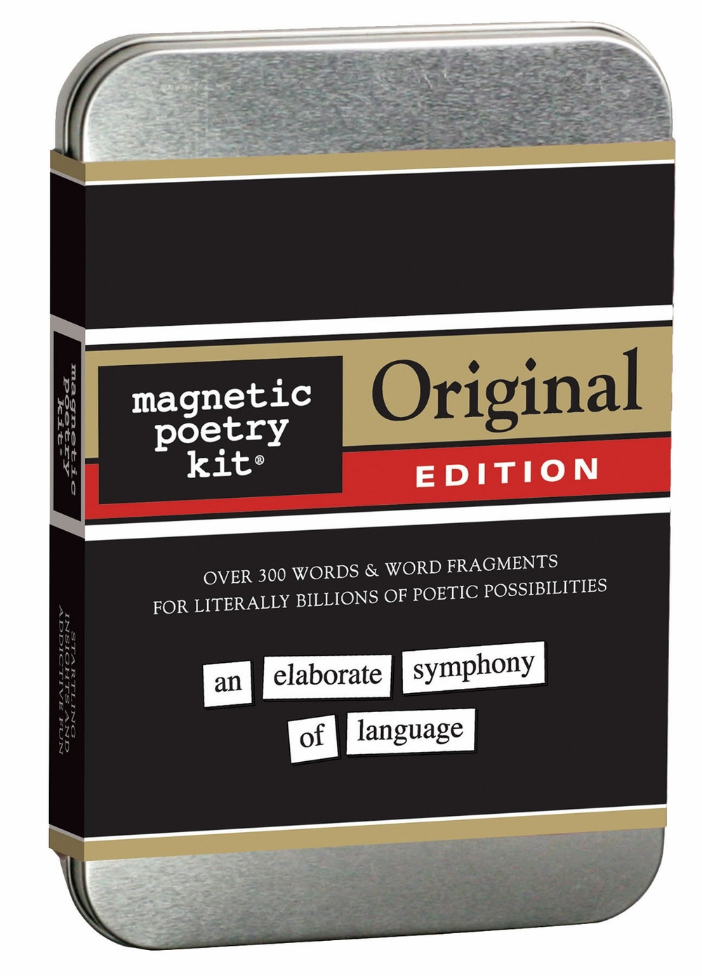 Magentic Poetry Kit $19.99, themed sets available $7.99 - $12.99