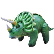 Inflatable Dinosaurs, Triceratops and Pteranodon available $19.99