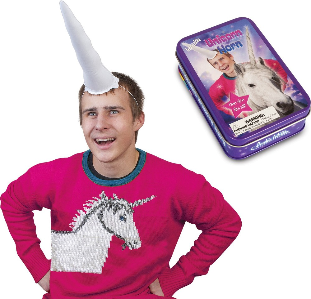 Inflatable Unicorn Horn $7.99