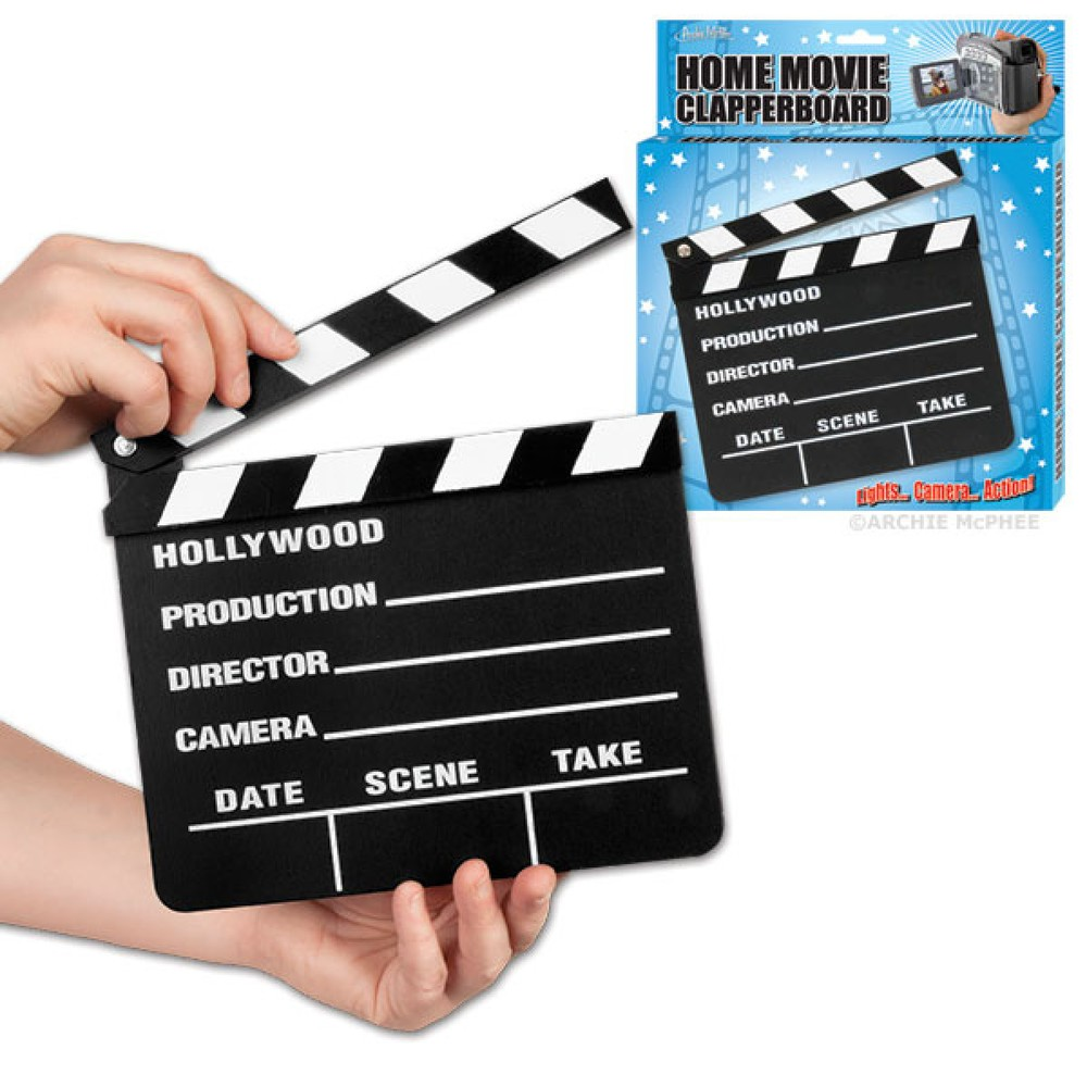 Home Movie Clapperboard $7.99
